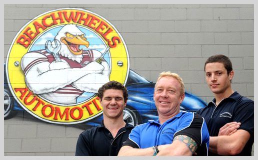 Beachwheels Automotive Staff